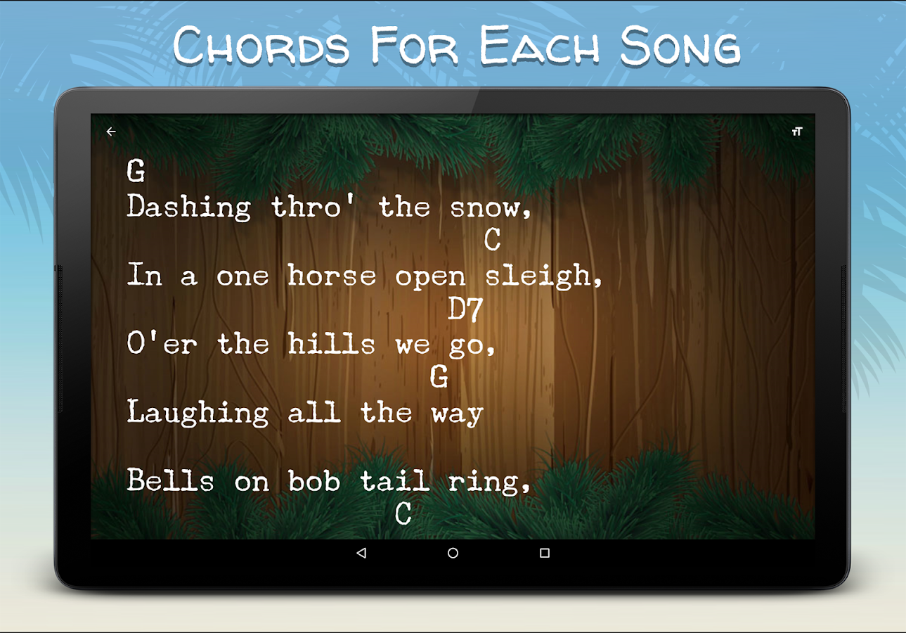 Ukulele Christmas Songs- screenshot