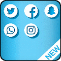 Dual Space : Multiple Accounts Pro 2020 icon