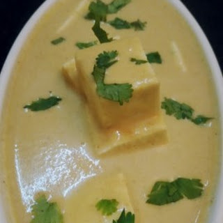 Shahi Paneer In White Gravy