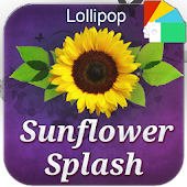 Sunflower Splash XperiaN Theme