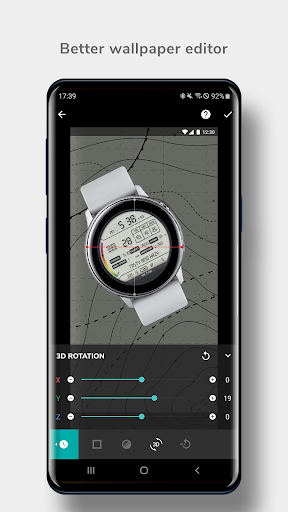 Screenshot for MR.TIME - Free Watch Face Maker in Hong Kong Play Store