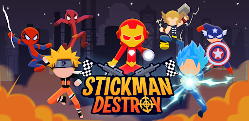 Image result for Stickman Destroy hack