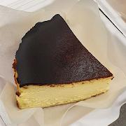 Basque Cheesecake Slice