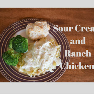 Crock Pot Cream Cheese and Ranch Chicken