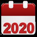 Calendar 2020 icon
