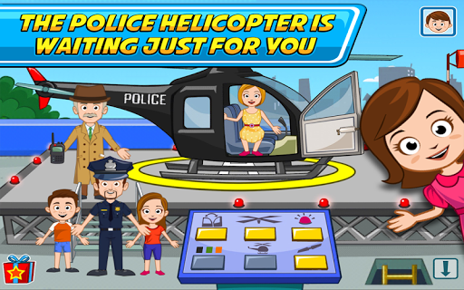 My Town : Police Station  screenshots 10