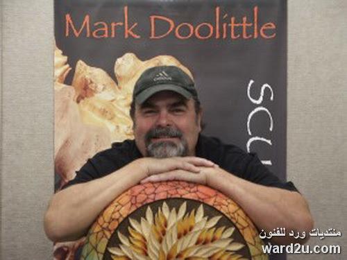 خشب نادر فى منحوتات الفنان Mark Doolittle