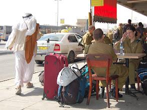 Photo: Beer Sheva bus station