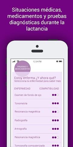 android LactApp Consultas de lactancia Screenshot 1
