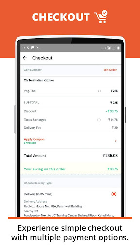 foodpanda: Food Order Delivery 2.5.2 screenshots 5