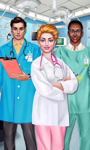 Surgery Doctor Girl Salon Game