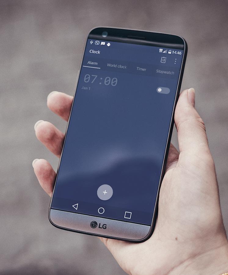 Pixel Night Theme LG G6 V20 G5 APK Cracked Free Download