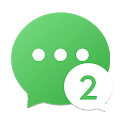 2Face - 2 Accounts for 2 whatsapp icon