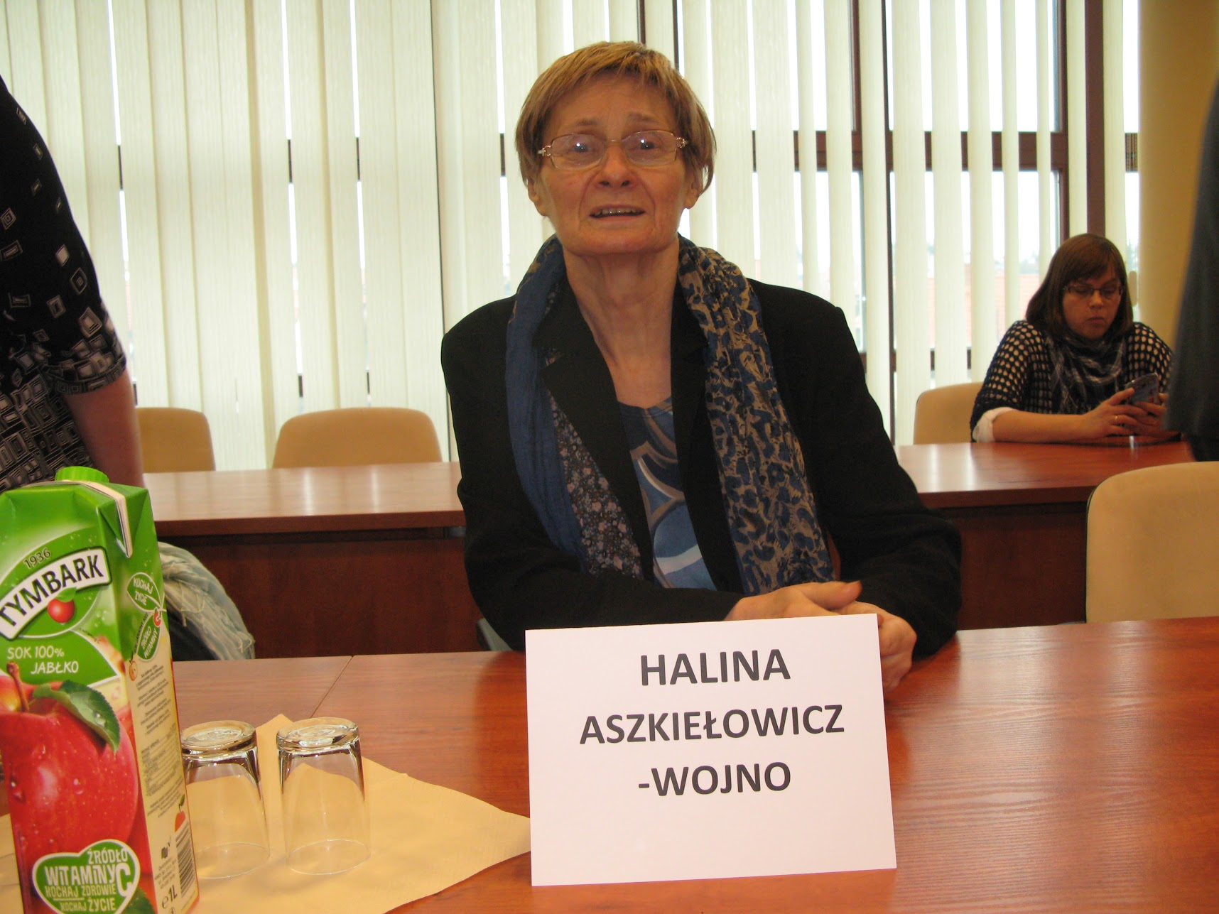 2016 » Halina Aszkiełowicz-Wojno - w dniu 25 listopada otrzymała tytuł