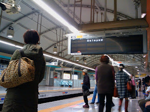 Photo: Retraso para ir a Narita