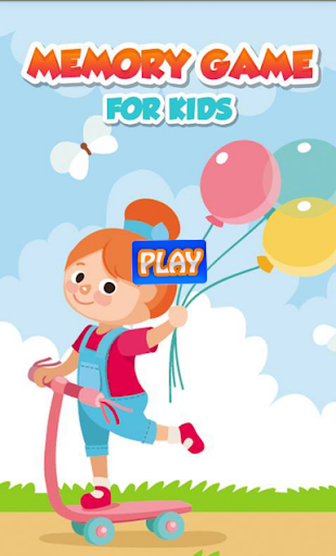 Memory Fruits Game for Kids
