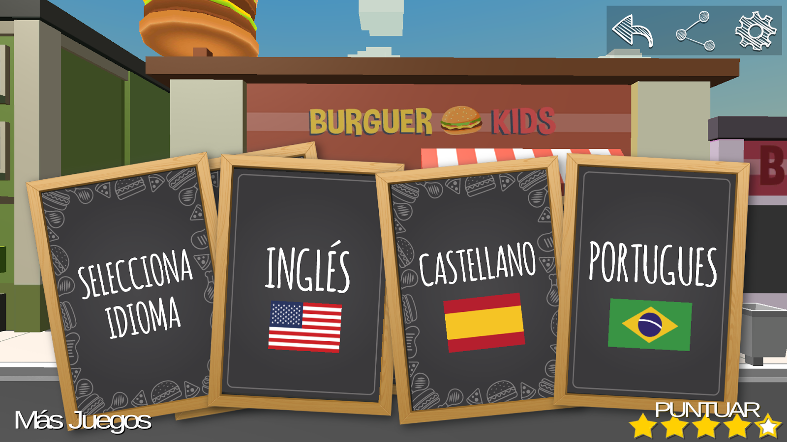Burger Kids 3D- screenshot
