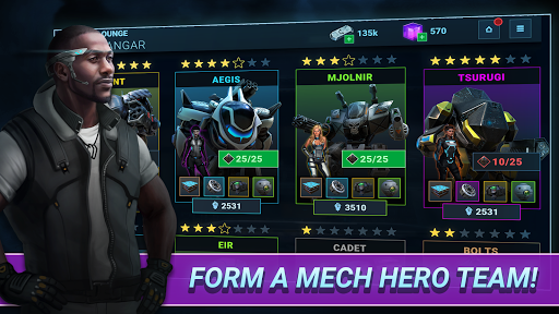Fusion Guards: AI Mech War apkmr screenshots 4