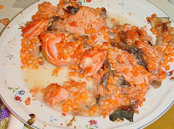 Salmon 'n' Lentils Ragout Recipe
