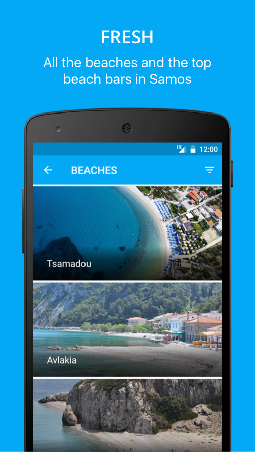 mySamos travel guide- screenshot