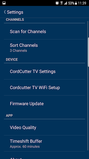 Hauppauge myTV 1.0.18092015 screenshots 4