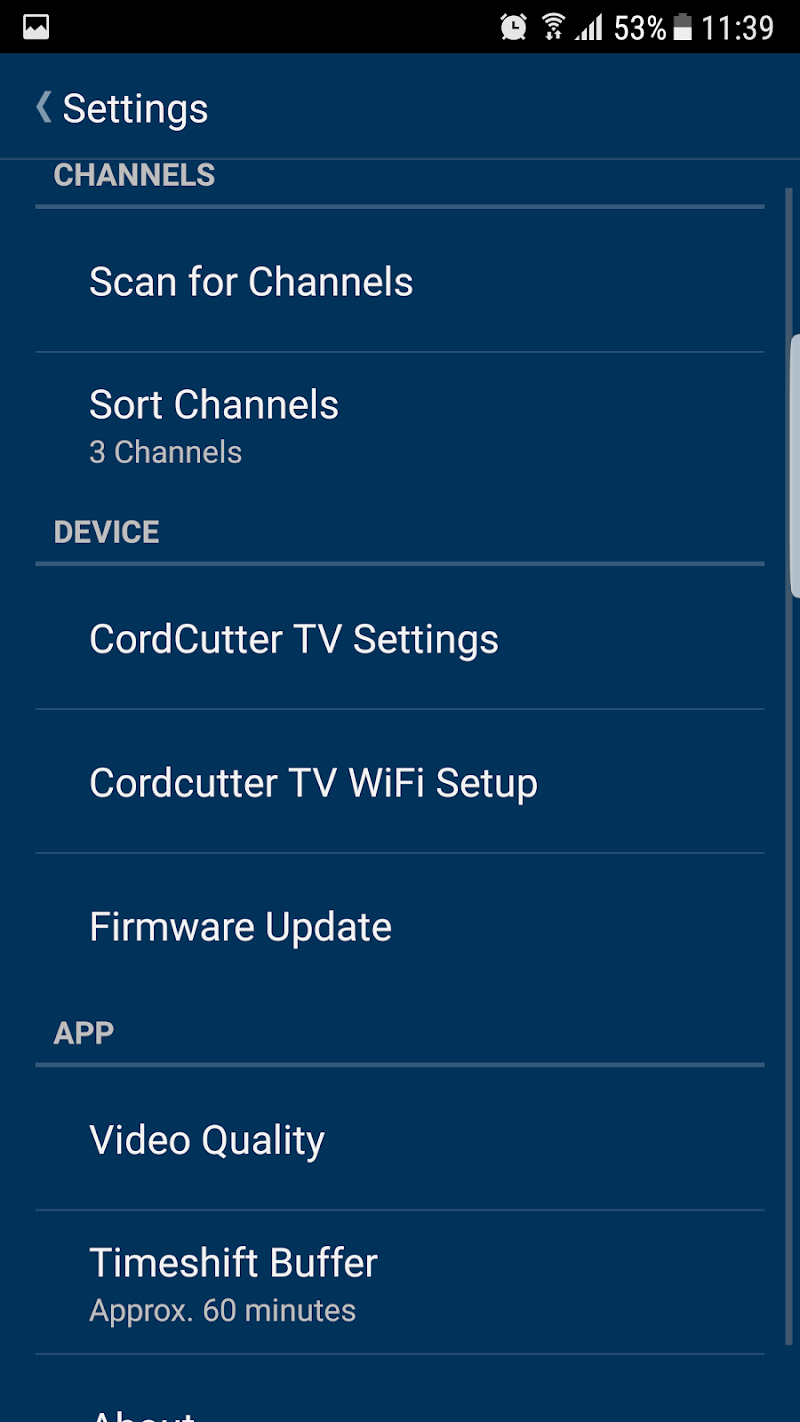 Скриншот Hauppauge myTV