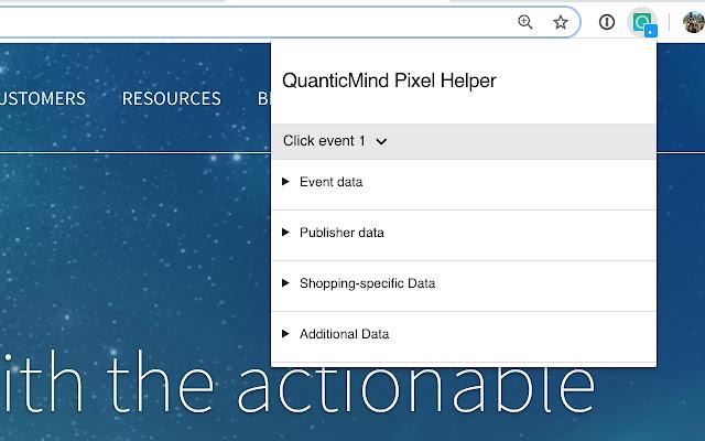 QuanticMind Pixel Helper