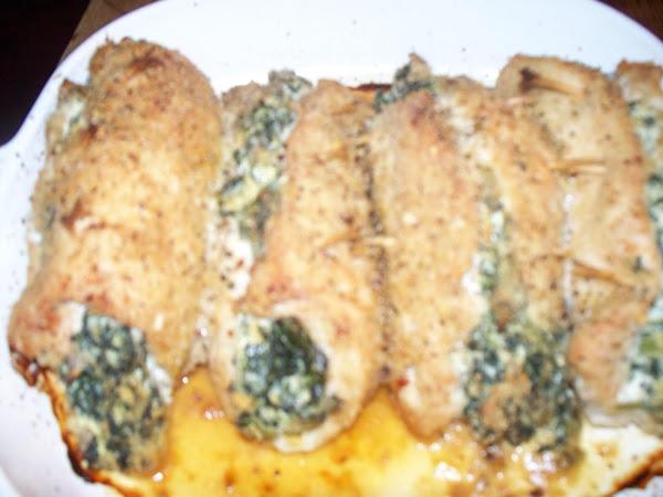 Stuffed Turkey Rolls Recipe