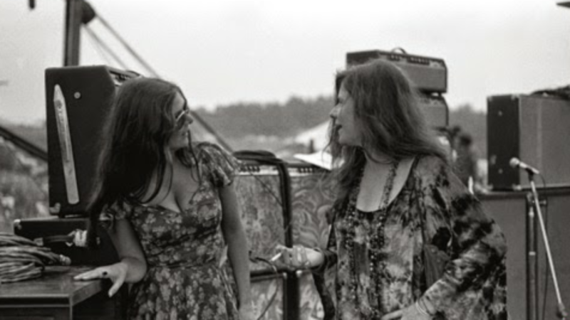 Janis Joplin e Peggy Caserta.