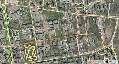 Photo: Mapa planowanej drogi rowerowej