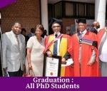 Graduations (PhD Students) : NWU Mafikeng Campus