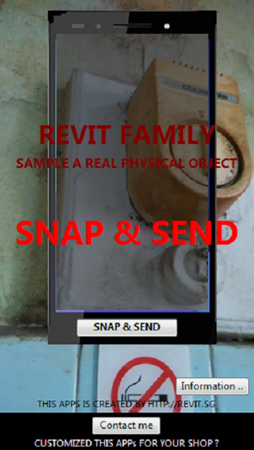 Revit Family -  SnapNSend- screenshot