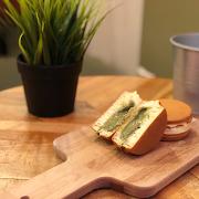 Matcha Wheel Cake