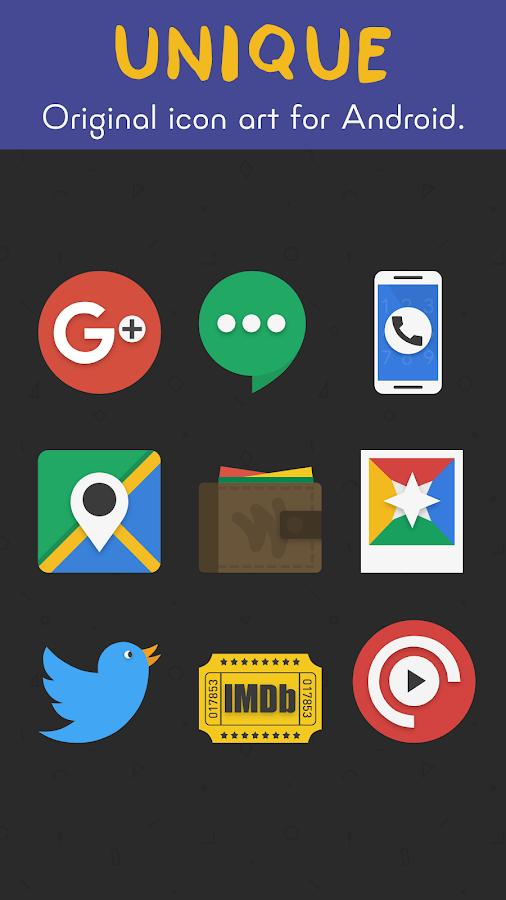 Fresh - Icon Pack- tangkapan layar