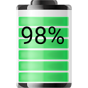 Battery Widget Show Percentage icon