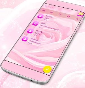 Rose SMS téma zdarma 2017 - náhled