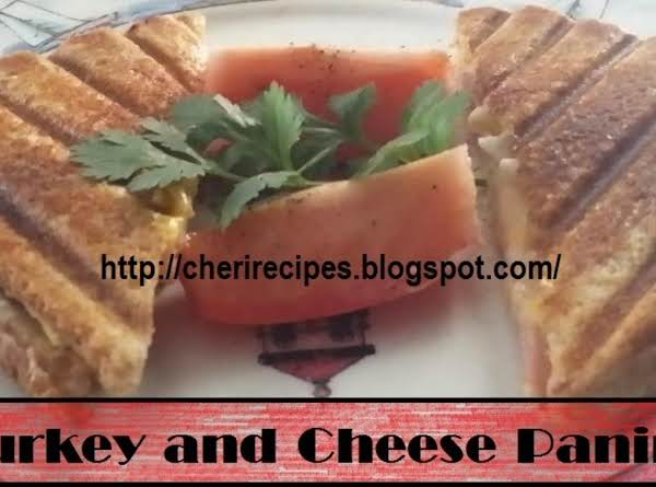 Turkey And Cheese Panini Recipe
