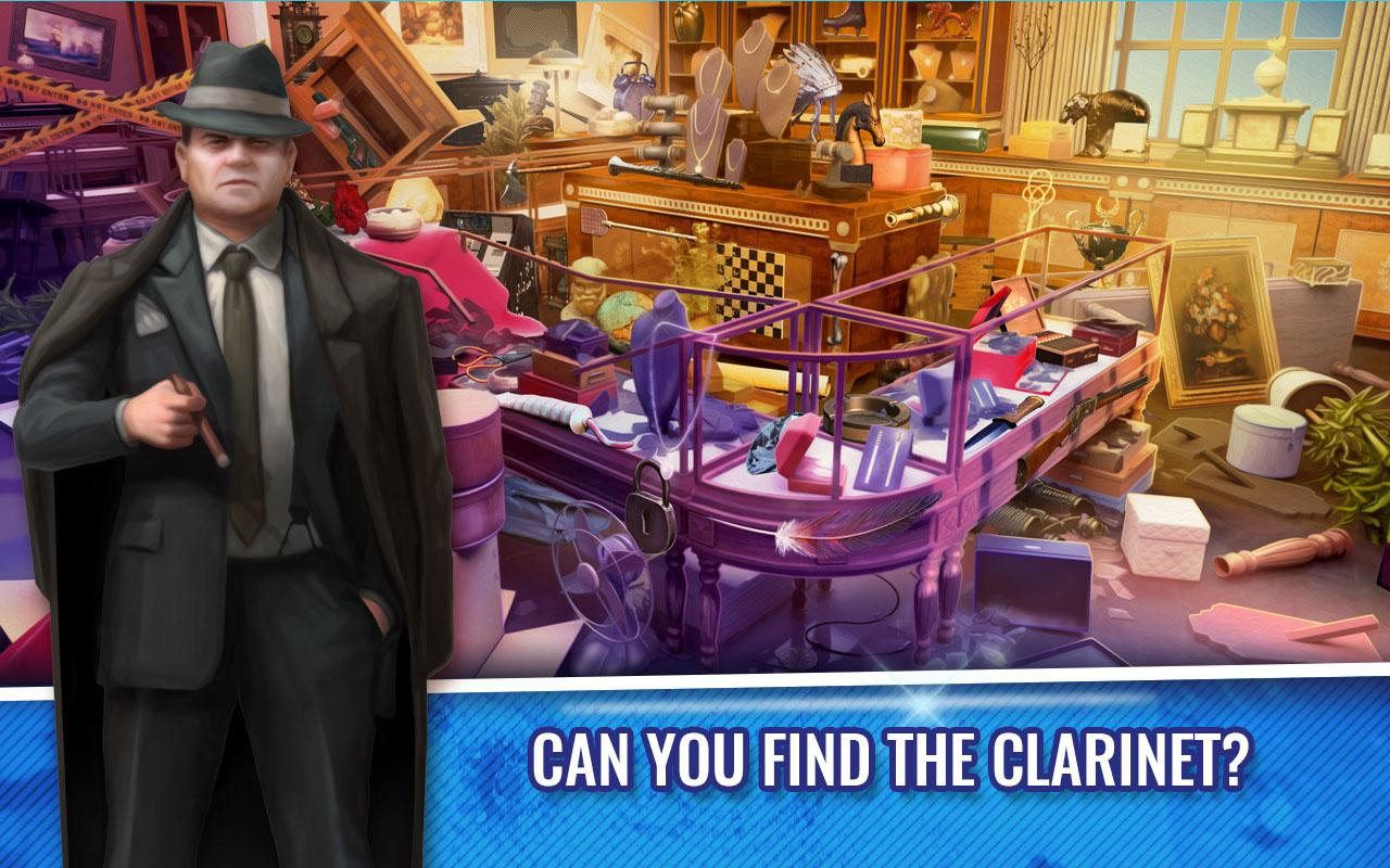 Hidden Objects Crime Scene Clean Up Game- screenshot