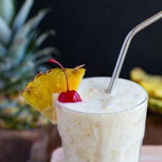 Pineapple Milkshake.