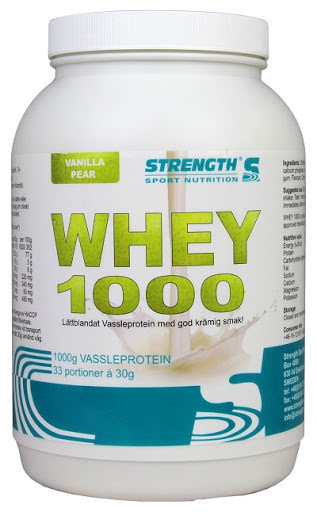 Strength Whey Protein 1000 - Vanilla/Pear