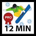 12 Min Snowboard Workout PRO icon