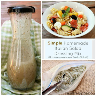 Homemade Italian Salad Dressing Mix {How To}