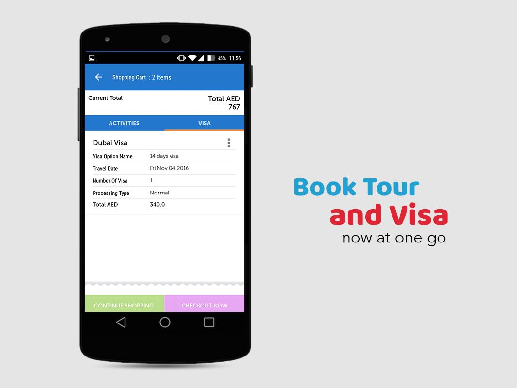 Visa & Holidays : Rayna Tours- screenshot