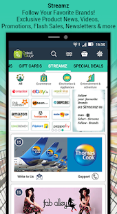 GreatBuyz - Coupons, Deals & Brand Follow App- screenshot thumbnail