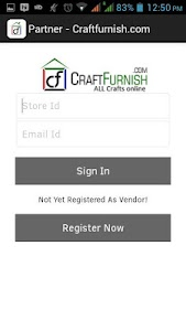 Craftfurnish Seller screenshot 0