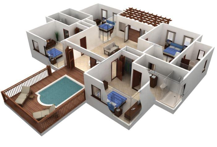 3D Home Layout Design- screenshot