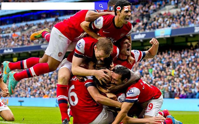Arsenal F.C. HD Wallpapers New Tab