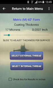 Centor Screw Thread Data/Check - náhled