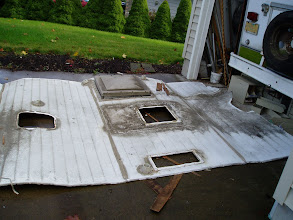 Photo: Now I can remove the large roof exit vent.