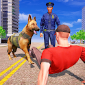 US Police Dog k9 - Crime Catch Police Pursuit Cop icon